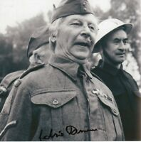CLIVE DUNN Signed 8x8 Photo DADS ARMY Corporal Jones COA