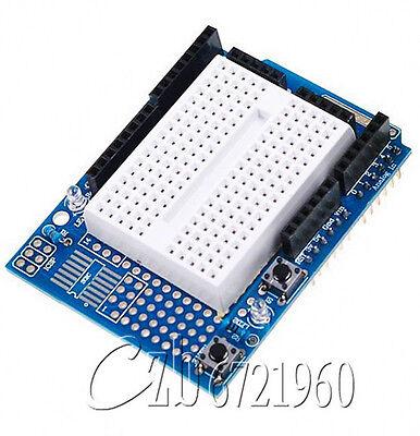 Atmega328P Arduino Prototyping Prototype Shield ProtoShield + Mini Breadboard