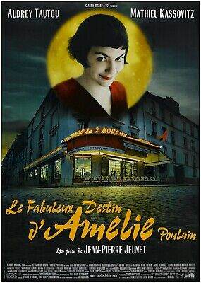 Amelie Classic Movie Large Poster Art Print Gift A0 A1 A2 A3 A4 Maxi