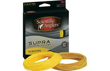 Scientific Anglers Supra WF-3 Floating Fly Line w/ Loop -Buckskin New- Free Ship