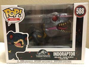 Indoraptor Jurassic World #588 FUNKO POP figura de película Jurassic World-Nuevo