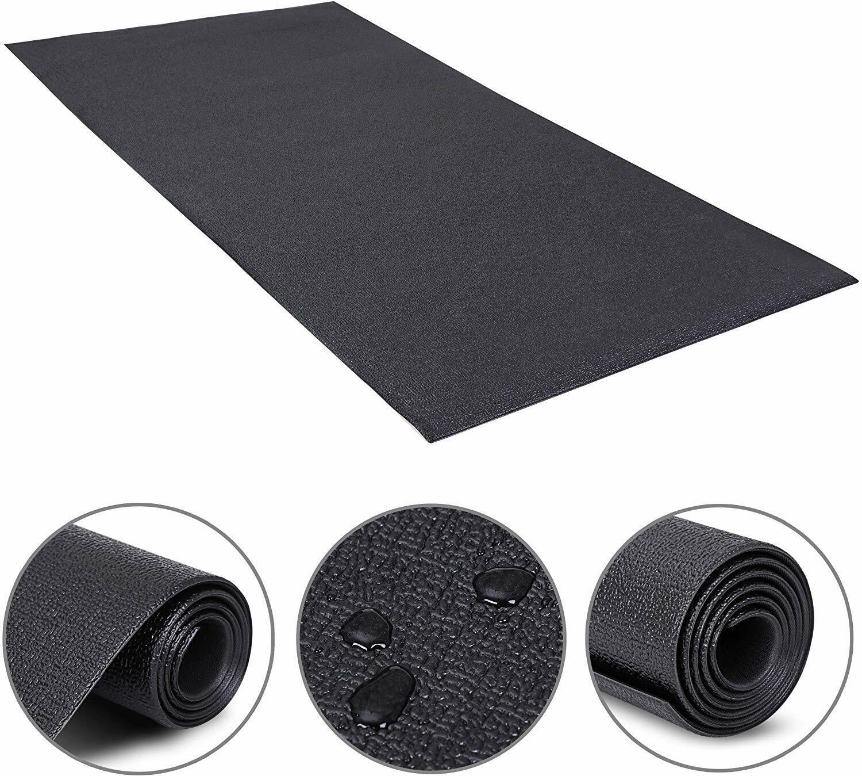 Durable Exercise Treadmill Bike Mat Floor Protector Pad Non-Slip Gym Equipment Exercise Mats
