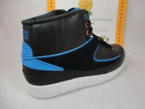 63718e00591e1d Image is loading Nike-Air-Jordan-2-Retro-Black-Photo-Blu-