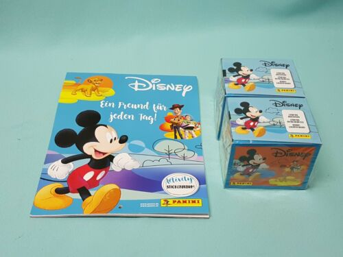 PANINI DISNEY MIX sammelsticker album 2 x display//72 cartocci TOPOLINO