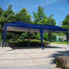10' x 20' Easy Outdoor Pop Up Gazebo Canopy Cover Wedding Party Tent