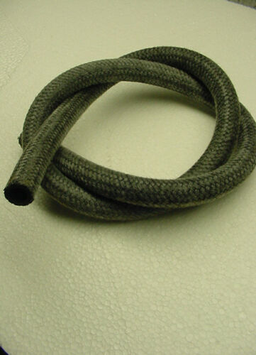 1 meter vw cloth braided breather hose line 12mm bug bus ghia vent type3 2 tube