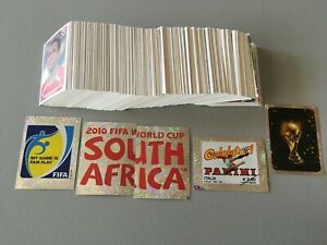 PANINI  SET COMPLET  FOOTBALL WORLD CUP WC AFRICA 2010  RARE MINT