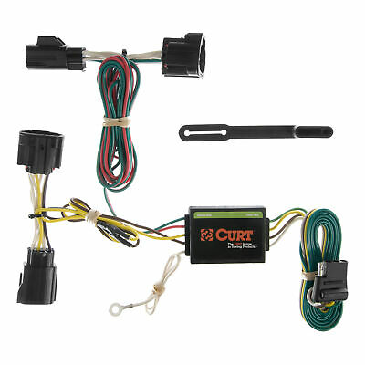 CURT Custom Vehicle-to-Trailer Wiring Harness 55414 for ...