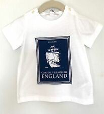 Burberry Baby Classic White Ship Tee Shirt. NWT Retails $55 Price $42 9 Months