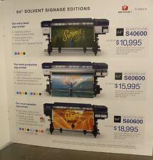 Roland Soljet Pro4 Xr 640 Printer And Royal Sovereign Rsc 1402cw Laminator