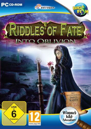 1 von 1 - Riddles Of Fate: Into Oblivion (PC, 2015, DVD-Box)Neu+OVP