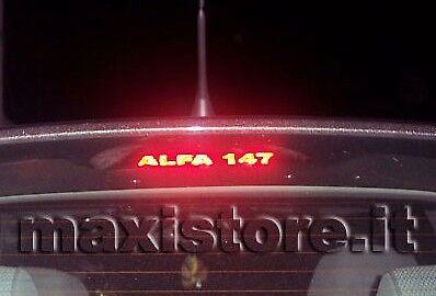 Adesivo Sticker Terzo Stop per Alfa Romeo 147 - Personalizzalo con soli 2€!