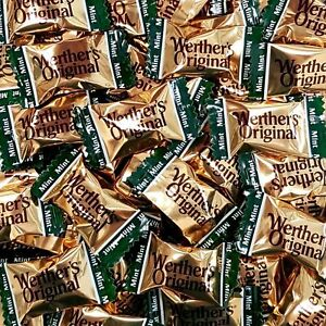 Image Is Loading WERTHERS ORIGINAL BUTTER MINTS 400g Birthday Present Gluten