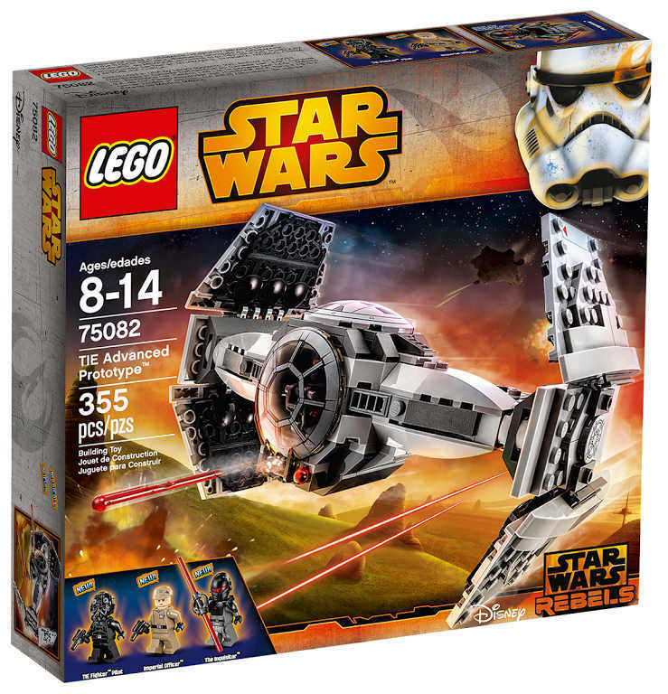 NEU LEGO® REBELS Star Wars 75082 - TIE Advanced Prototype NEU & OVP