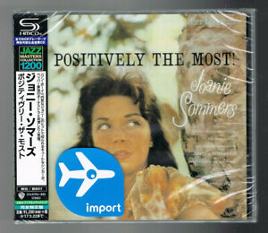 JOANIE-SOMMERS-POSITIVELY-THE-MOST-SHM-CD-12-TITRES-NEUF-NEW-NEU