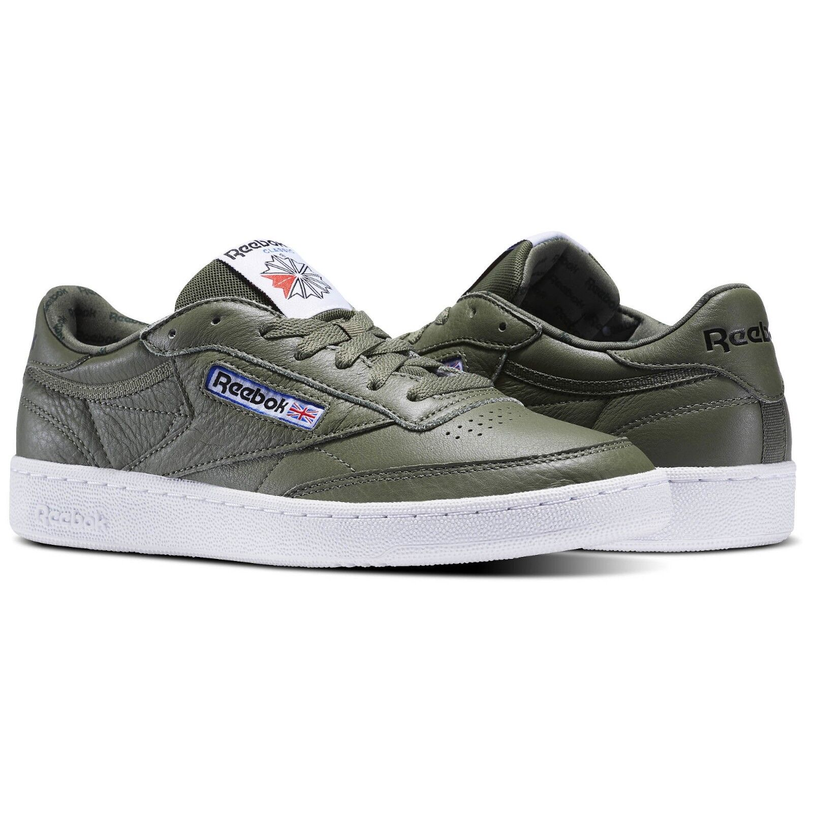 Reebok Club C 85 SO Classic Classic SO Hunter Green BS5211 Taille 10 Retro Tennis Chaussures New d27574