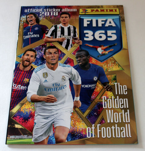 ed PANINI FIFA 365 stagione * 2018 * INT album MINT Europa 100 cartocci packets