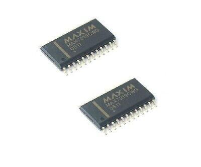 2PCS MAXIM MAX7219CWG SOP-24 LED Display Driver IC