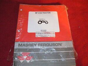Massey Ferguson 3120 Tractor Original Dealer/'s Parts Book