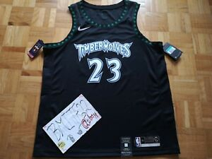 7b9f0ad03f9 Image is loading NWT-Jimmy-Butler-Minnesota-Timberwolves-Retro-HWC-Nike-