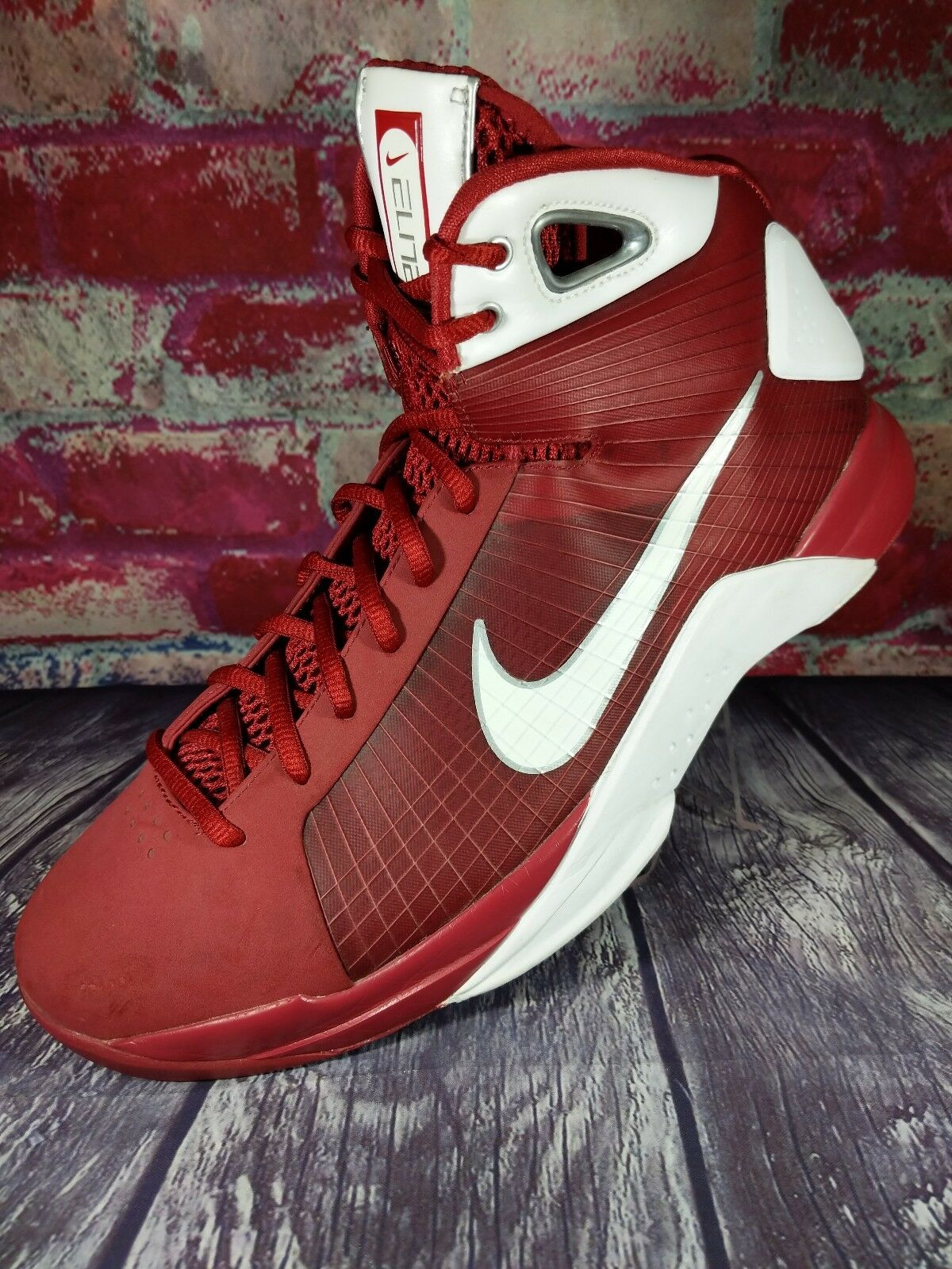 2008 Nike HYPERDUNK ELITE BASKETBALL SHOES MENS 12.5 HARVARD OKLAHOMA TEXAS A&M