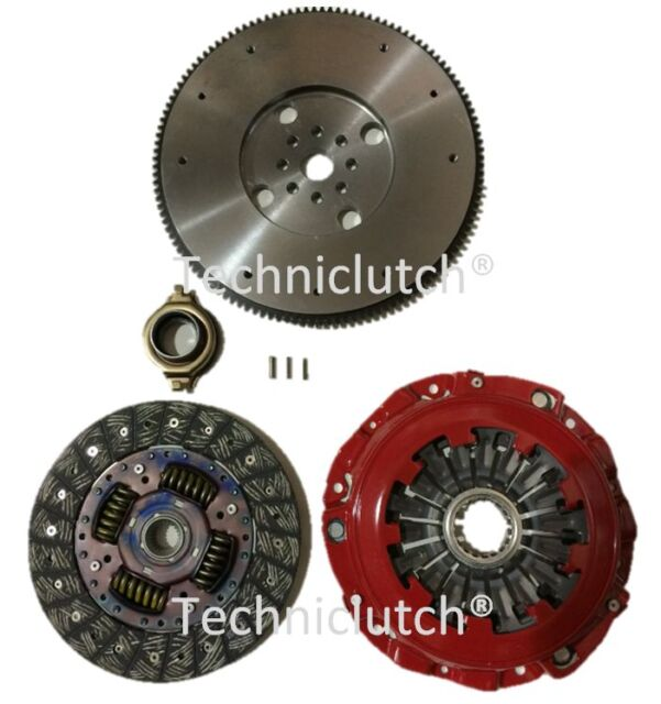 LIGHTENED FLYWHEEL WITH STAGE 1 RACING CLUTCH KIT TO FIT SUBARU WRX STI 5 SPEED