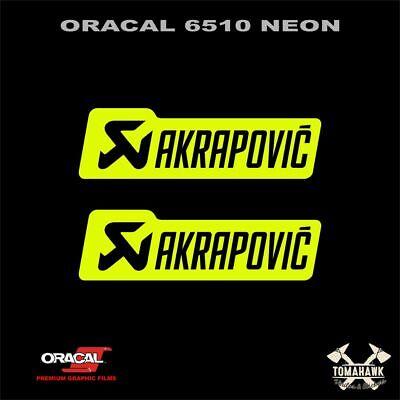 Pegatina Akrapovic 12 x 3,5 cm