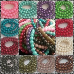 Glass-Beads-Gold-Powder-Classic-Sizes-6mm-12mm-PROMO-SEE-ITEM-DESCRIPTION