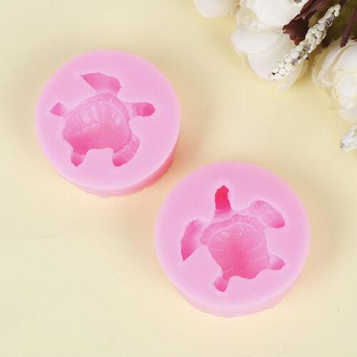Schildkröte Form Silikonform Kuchen Schokolade Gum Paste Seifenformen Kuche/_lk