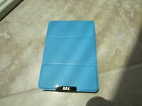 Fyy Amazon Kindle Wi-fi E Ink 6 Tablet Hard Back Stand Book Folio Case Blue