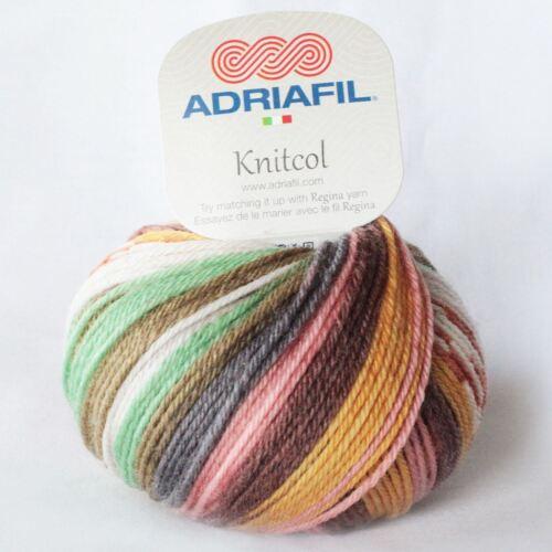 Wool 50g Adriafil Knitcol DK Yarn 080