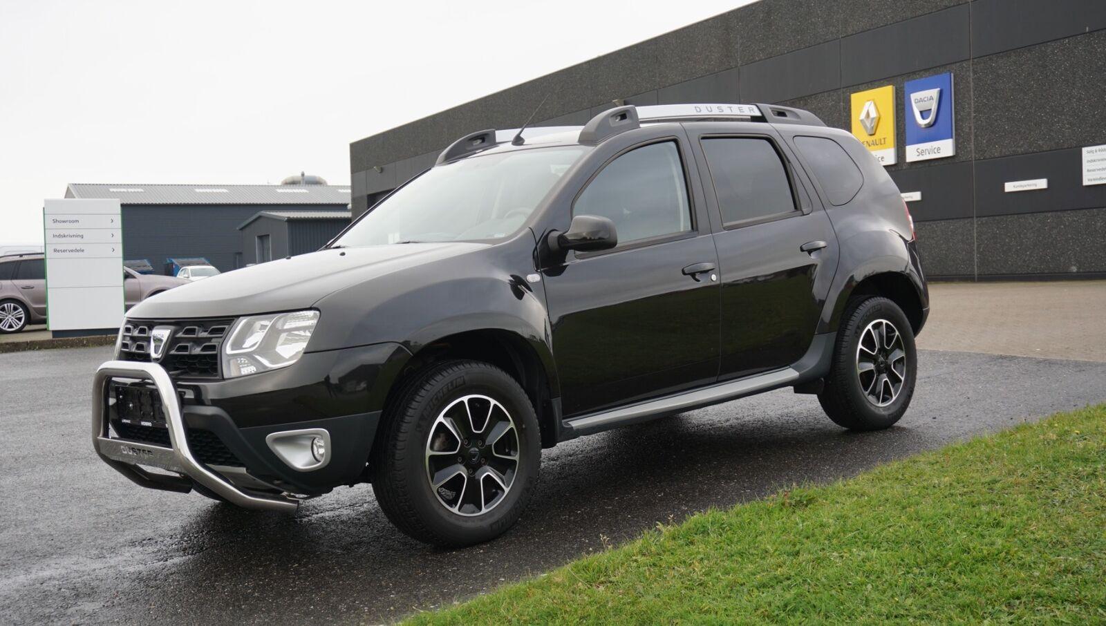 Dacia Duster 1,2 TCe 125 Black Shadow 5d - 139.900 kr.