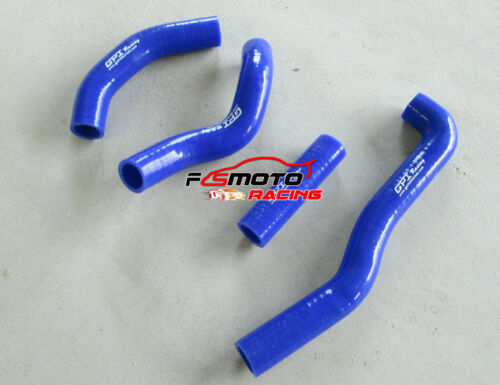 Silicone radiator hose kit for KAWASAKI KX250 KX 250 1988 1989 88 89 BLUE