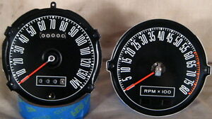 ORIGINAL-1968-1967-SHELBY-MUSTANG-GT-350-GT-500-500KR-TACH-140-SPEEDO-WITH-TRIP