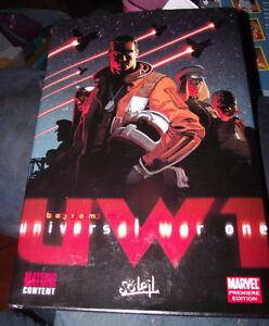 BRAND-NEW-Hardcoer-Marvel-Prrmiere-Edition-Universal-War-One-Vol-1-Graphic-Comic
