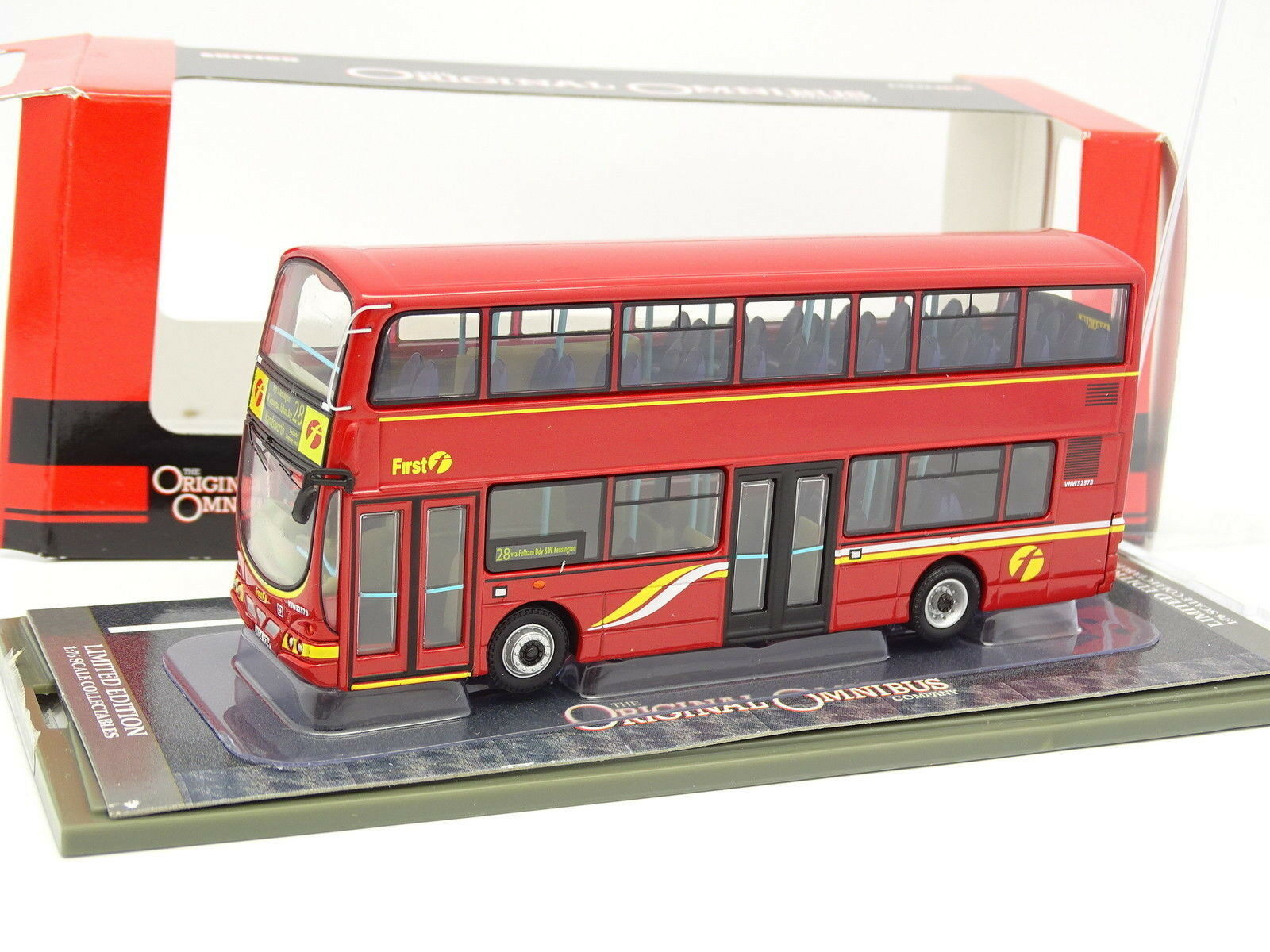 Corgi 1 76 - Bus Autobus First London WRIGHT ECLIPSE GEMINI