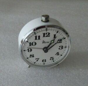 Pequeno-Reloj-Despertador-Micro-mecanico-vintage-clock-Funcional