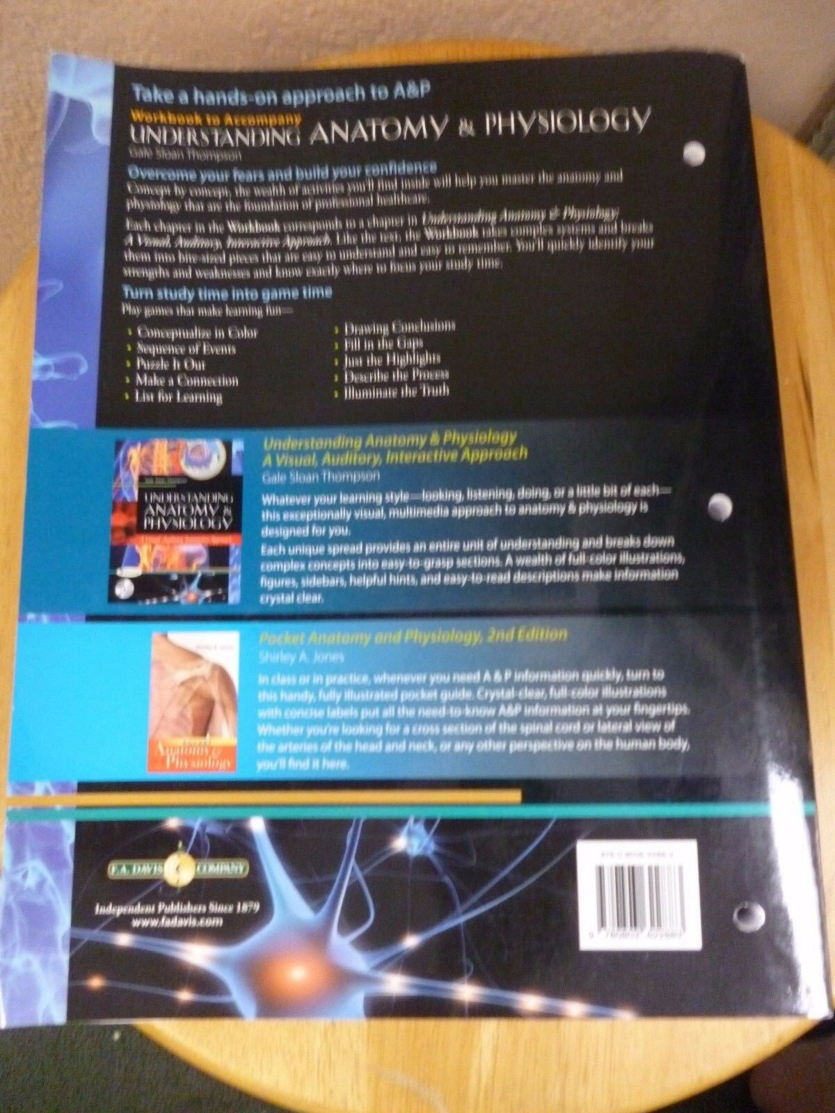 Workbook to Accompany Understanding Anatomy and Physiology : A ...