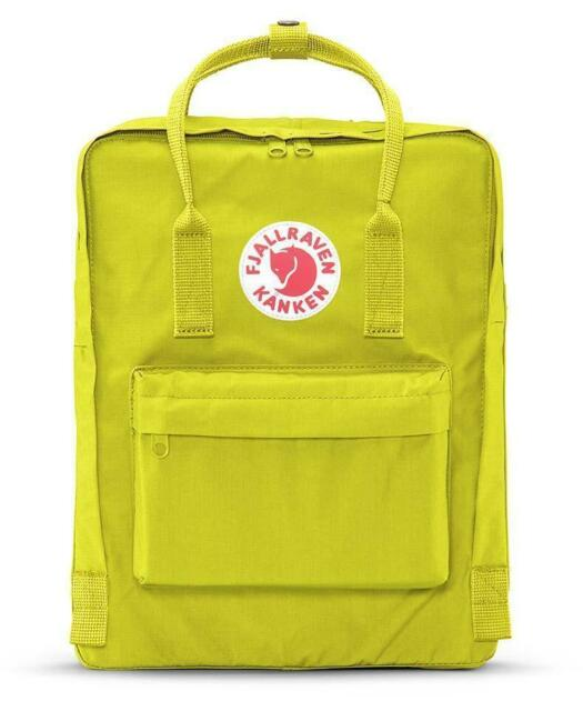 9964f7de9 Fjallraven Kanken Classic Backpack Unisex (606 Birch Green) F23510 Brand New