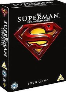 Superman-Film-Collection-1-A-V-1-2-3-4-Superman-Returns-DVD-Nuovo-DVD