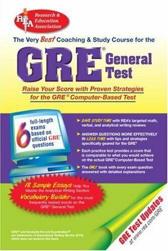 Gre General Cbt : The Best Test Vorbereitung für Graduate Record Untersuchung