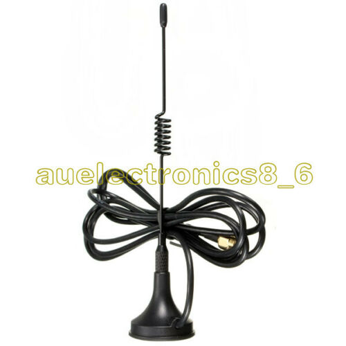 5dbi 433MHz Antenna SMA Male Plug GSM 9.84ft Cable 3M Magnetic For Ham radio