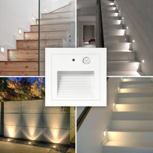 LED Treppenbeleuchtung Treppenlicht Treppenleuchte Stufenlicht Stufen Leuchte