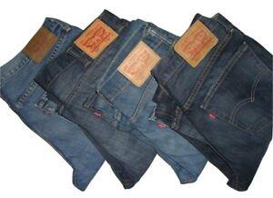 Details about Mens LEVIS 527 Slim Bootcut Blue Denim Jeans W30 W31 W32 W33 W34 W36 W38 W44 W52