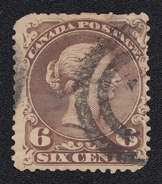 Canada Scott 27 Used