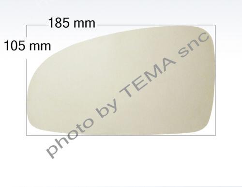 Specchio sinistro biadesivo DAEWOO CHEVROLET Aveo 2003-2008 185x105 circa