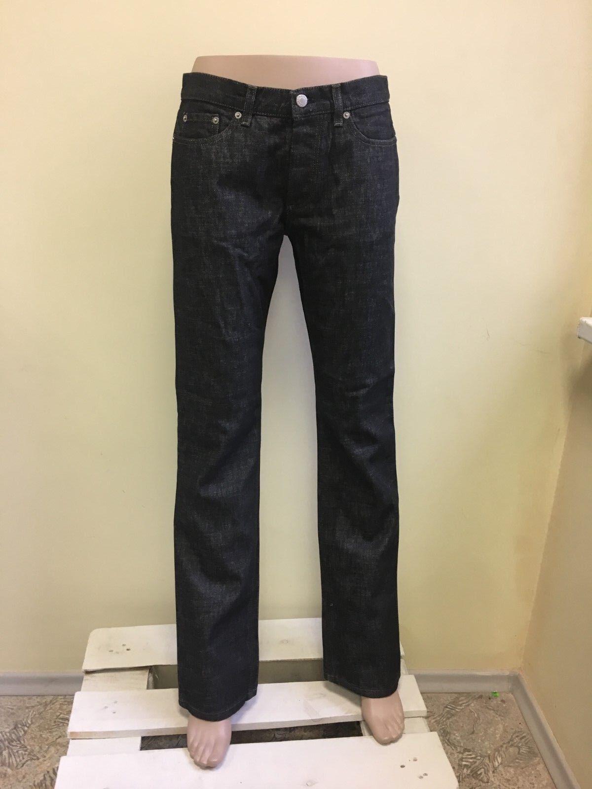 Helmut Lang men's vintage jeans low waist bootcut, Classic denim, HR5021