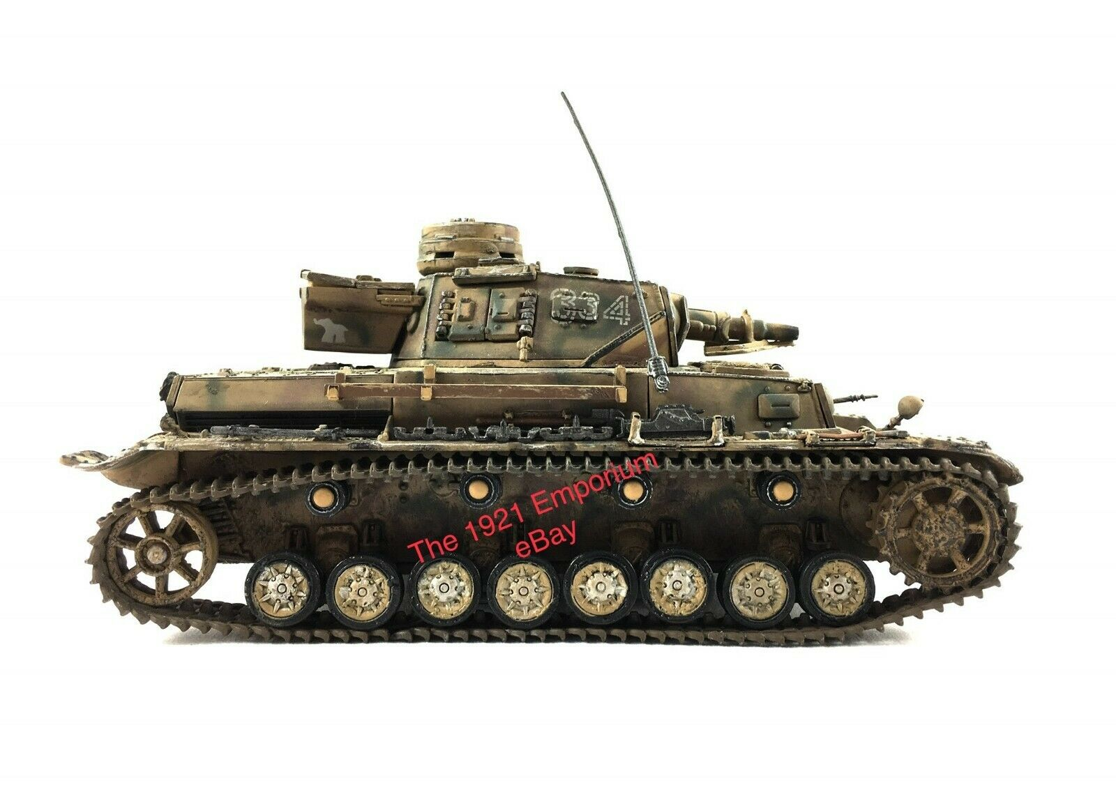 1 32 Diecast Unimax Toys Forces of Valor WWII German Army Panzer IV Tank
