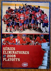 NHL-MONTREAL-CANADIENS-2008-SEASON-TICKET-PLAYOFFS-TICKET-BOOKLET12-034-x-17-034