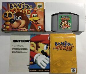 Banjo-Tooie-Nintendo-64-N64-Authentic-Original-Box-Manual-Complete